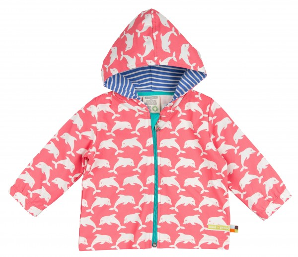 LOUD+PROUD Sommer-Outdoorjacke Delfine Coral