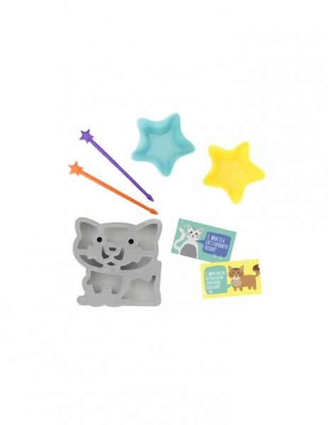 LUNCH PUNCH Fun Lunch Kit Cat